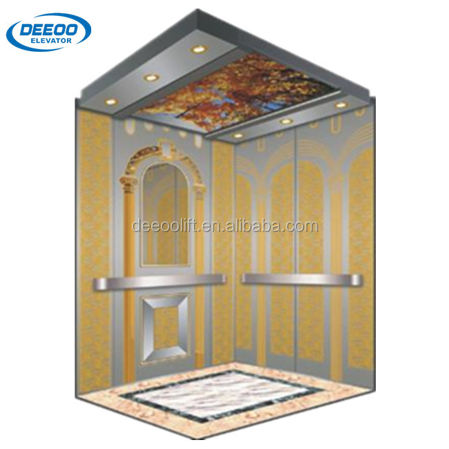 630kg 8 Person Stainless Steel Building Lift Price