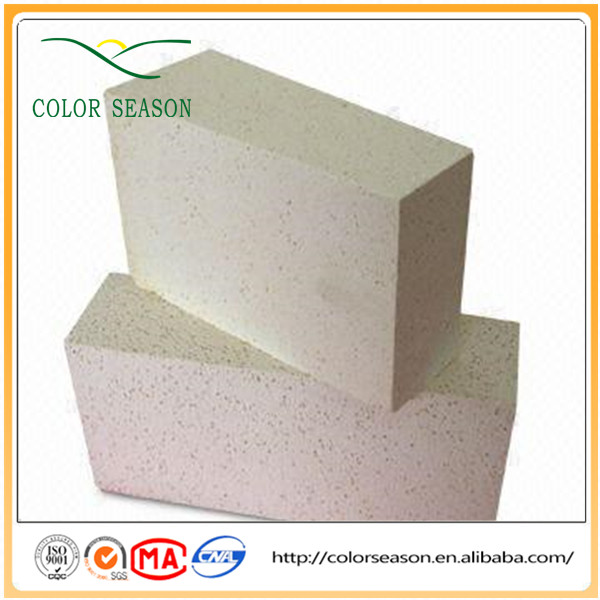 Ultra light weight bricks used for furnaces lining refractory insulation