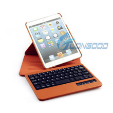 Rotating Case Cover Stand w/ Removable Bluetooth Keyboard for iPad Mini & Retina