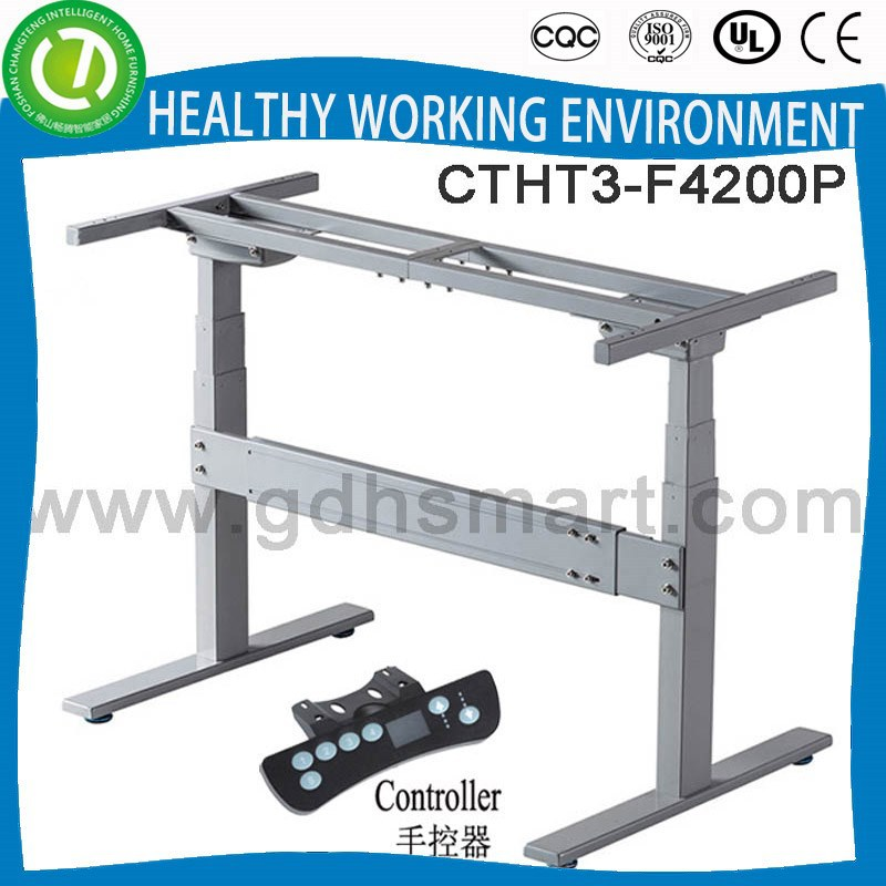 Electric lifting height adjustable sit-stand manager desk set & human scale desk & roll top rise and sink desk frame Tokyo