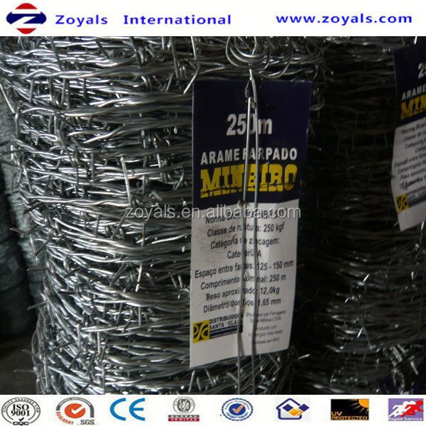Electro and Hot dipped barbed wire reels (specialized manufacturer)