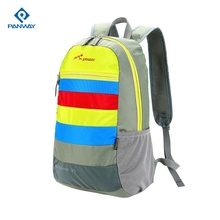 60l Blue Man Climb Nylon Comfortable Fashion Foldable Backpack Custom Logo