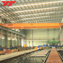 2017 New workshop 16t lh model double girder electric lift bridge crane with hoist