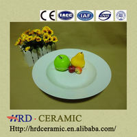 can OEM customized logo household dinnerware Ceramic Plate