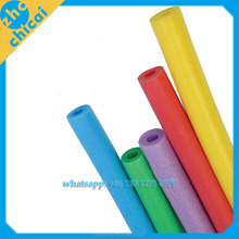 Hot sales pool noodle colorful epe foam tube, all kinds of shape epe foam tube