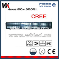 800w High Power 52 Inch IP68 Aluminium 4x4 Truck jeep off road Led Light Bars made in china