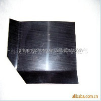 rigid black HDPE plastic slip sheet for pallet good loading