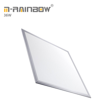 Embed hotel square 600x600 recessed slim smd led ceiling panel lighting aluminum led <strong>flat</strong> panel lamp 36w