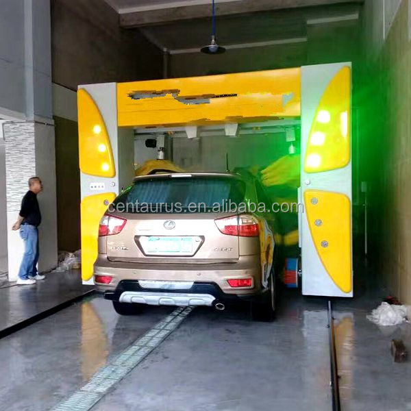 Good quality fully automatic tunnel washing car machine system with best price