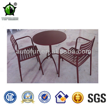 Furniture outdoor Vintage metal garden table