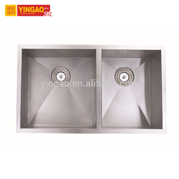 Various models factory directly double bowl stainless steel kitchen sink