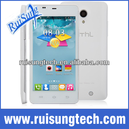 Original THL T5S MTK6582 Quad Core 1.3GHz mobile phone 4.7Inch IPS Screen 1GB+4GB 8.0MP Camera Android 4.2 with GSM/3G/GPS/OTG