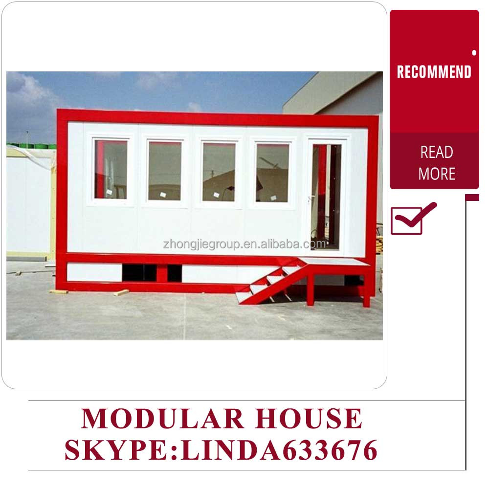 Light steel structure flat packed prefab home / kit home