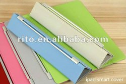 Multi-10 colors Brand New Smart cover for the new ipad 3 3rd gen new ipad case