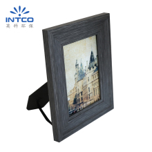 INTCO 4x6 5x7 8x10 Plastic Wood Color Antique Vintage Photo Frames
