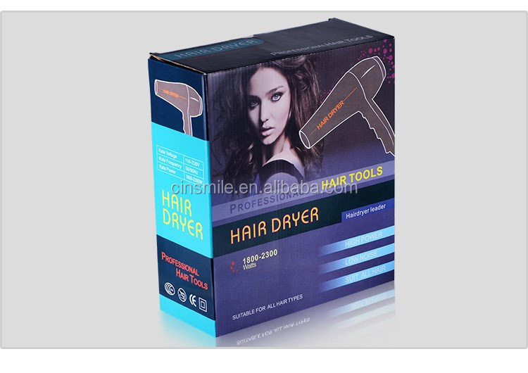 Professional AC Motor Hair Dryer 2000-2400W Hair Blow Dryer with Diffuser JD-083