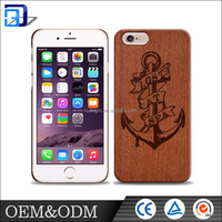 Factory wholesale latest OEM design wood shockproof stand function phone case for iphone 5 5s 6 / 6s case