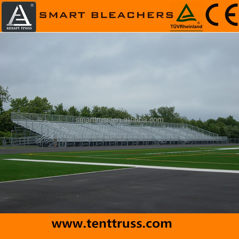 Bleacher seating gym seat stadium seating aluminum bench grandstand used bleacher for sale bleachers