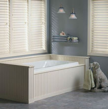 50mm Faux Wood pvc plastic Blinds for living room and bath room