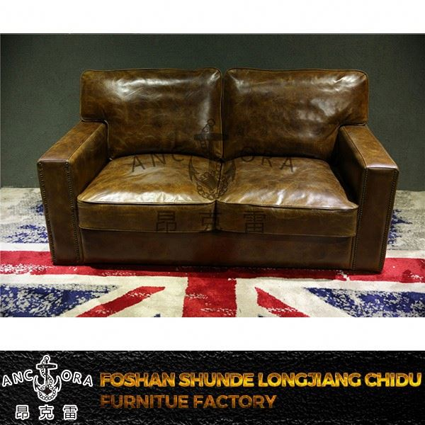 chinese leather sofa set A126