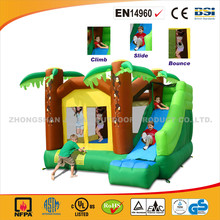 Jungle Climb And Slide Bouncy House/Cheap And High Quality Jumping Castle For Sale/Best Sale Inflatable Bouncer For Kids