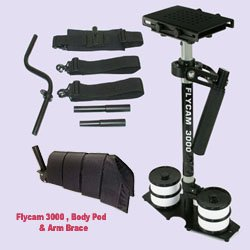 Flycam 3000 Body Pod & Arm Brace / Wrist Support