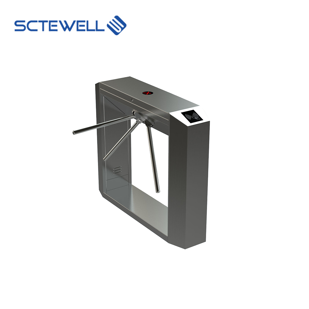 ROSH Approved Cold Rolled Steel Speed Sliding Turnstile Gate