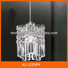 KL-21084 single pendant lamp crystal for kitchen dining room bedroom living room hall way decoration