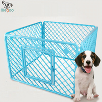 PP Resin Assembly Type Outdoor Pet Cage Foldable Dog Fence