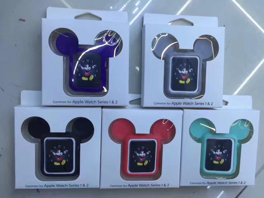 Cute Mouse Ears Silicon Protector Case for Apple Watch