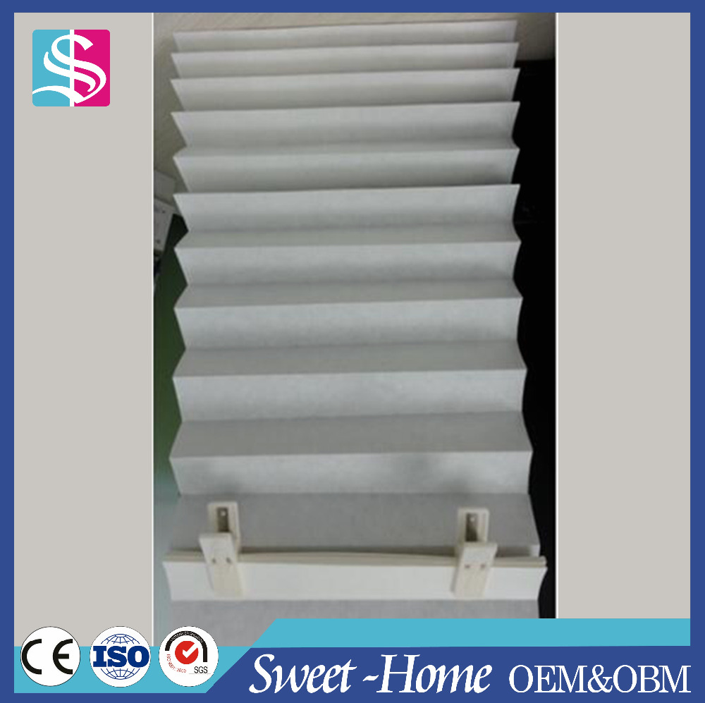 Cheap paper pleated blinds, pleated paper shutter