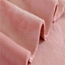 polyester double side velboa fabric for garment