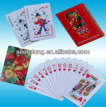 Cheap print custom promotional playing cards customized playing cards with lamination