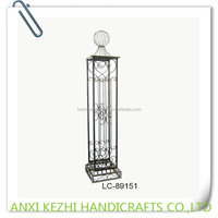 garden door metal pillar