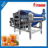 Industrial apple juice belt presser manufactured in Wuxi Kaae