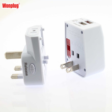 best selling products small business travel adaptor usb charger with CE ROHS FCC approval from Wonplug