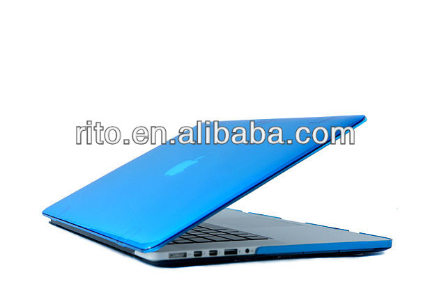"Matte Rubberized hard case for macbook Pro 13.3"" retina"