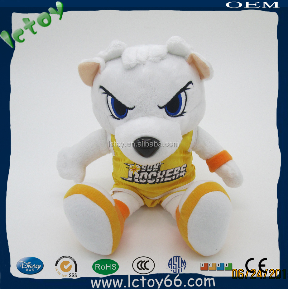popular cartoon character soft sitting toy