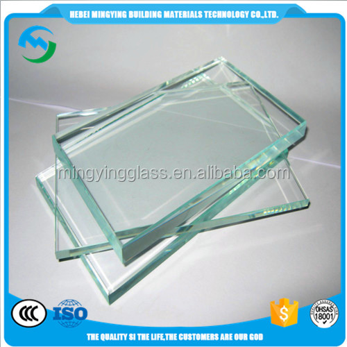 5mm clear toughened glass/tempered glass price/float glass from China mill