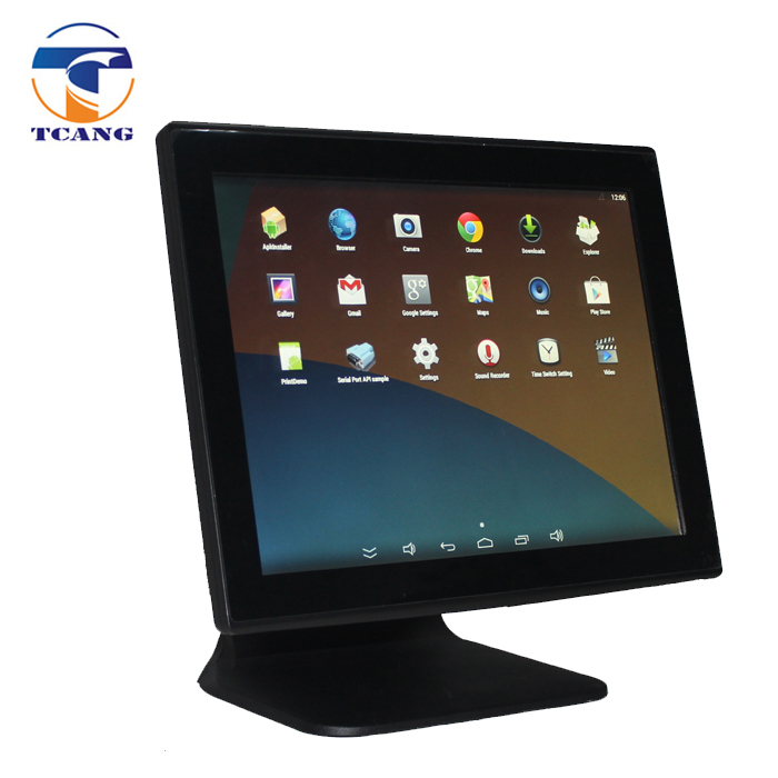 Tcang 15 inch Touch screen restaurant Android pos system / Pos terminal / all in one pos machine