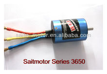 2-pole ST3650 inrunner rc boat brushless motor 540 motor for rc boat callocate with water cooling jacket