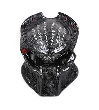 Halloween Carbon Fiber Party Mask