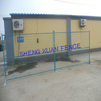 SGS certified pvc temporary event fence