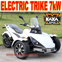 Three Wheels Electric Trike Motorcycle 7kW