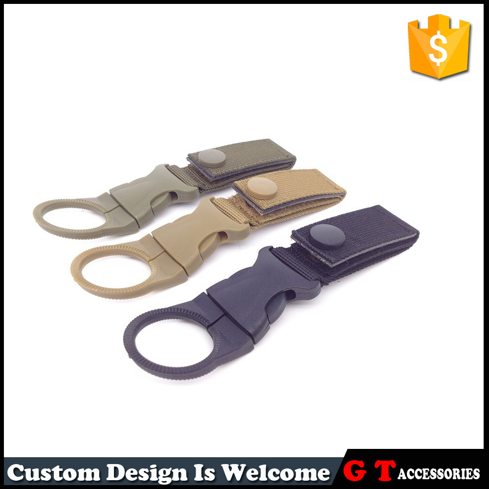 Outdoor High Quality Braid Nylon Bottle Belt <strong>Buckles</strong> For Mountaineering