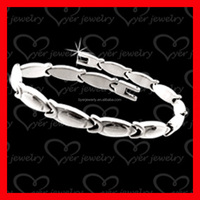 Hand made cheap make your own stainless steel bracelet