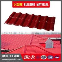 Light and durable materials synthetic resin plastic pvc roofing tile