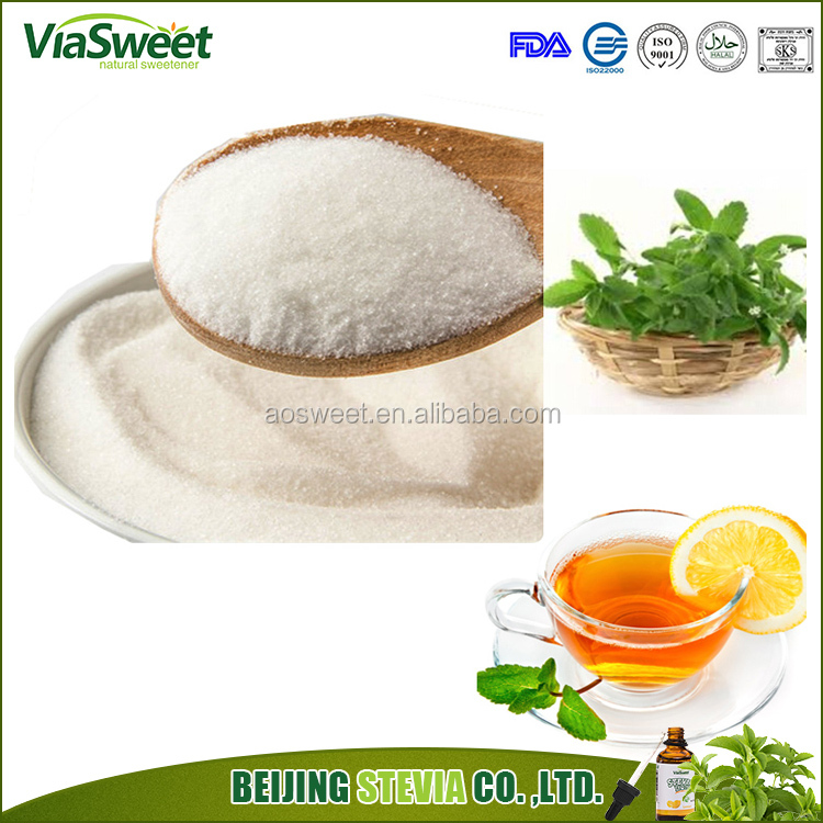 Free Sample low calorie pure natural stevioside 95% sweeteners Prevents tooth decay stevia powder