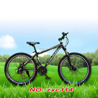 new aluminum frame full suspension mountain bicycle