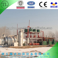 waste tyre recycling pyrolysis plant/machine
